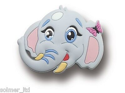 10 x Kids Childrens Novelty Drawer Cabinet Elephant Handles Knobs