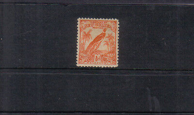 New Guinea 1932 1/2d orange lightly mounted mint