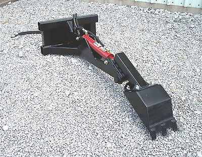 HB-10 Backhoe attachment for mini skid steer and walk behinds, Toro, Dingo etc.