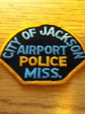 Jackson Airport Police Mississippi USA Patch
