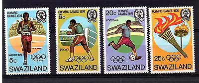 Swaziland (1026) 1976 Olympic Games, Montreal set Lightly mounted Sg255-8