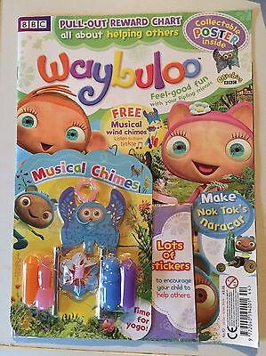 BBC CBeebies Waybuloo Magazine - issue no. 10 with musical chimes gift (2009)