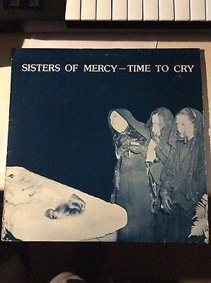 The Sisters Of Mercy - Time To Cry - Not On Label - Vinyl Double Lp - Very Rare