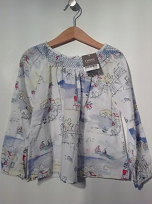 BNWT Next Seaside Lighthouse Blouse Top Age 4-5 Years RRP £15