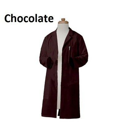 FREE PERSONALIZATION Gesture Made Unisex 40 Inch Long Fashionable Lab Coats