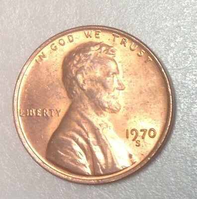 1970 S Small Date Lincoln Cent Penny