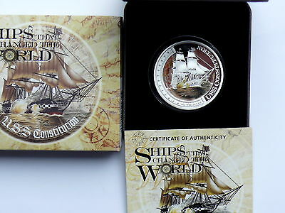 Tuvalu 1 Dollar 2012 Changed the World - Constitution, 1 Oz Silber, PP