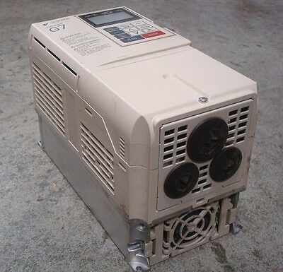 USED Yaskawa CIMR-G7U41P5 Variable Frequency Drive 2HP 380-480V