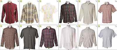 "JOB LOT OF 54 VINTAGE MEN""S SHIRTS - Mix of Era's, styles and sizes (21217)*"