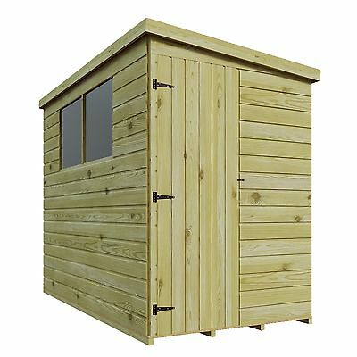 WOODEN PRESSURE TREATED T&G SHIPLAP 6 x 6 GARDEN SHED WINDOWS *REVERSE PITCH