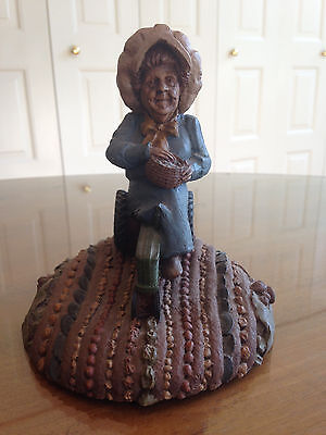 Tom Clark Cairn Studios Flora Gnome Cast & Personally Signed Coin Mint # 40