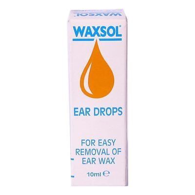 Waxsol Ear Drops 0.5% For easy removal of ear wax