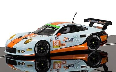 Scalextric C3732 Porsche 911, Silverstone, 2015 Elms Series, unused mint