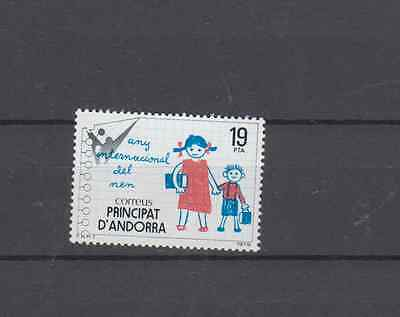 Andorra Spain 1979 Year Of The Child Set Mint Never Hinged