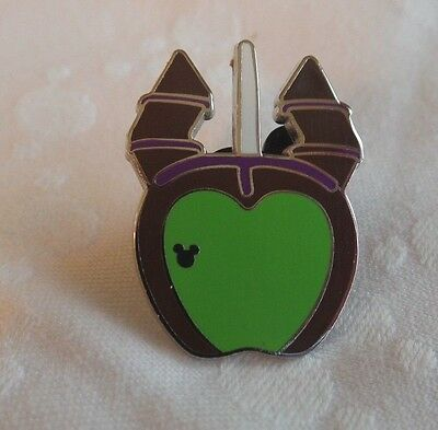 Disney Pin - 2015 Hidden Mickey - Character Candy Apples - Maleficent