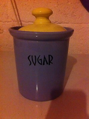 Sugar Canister With Lid