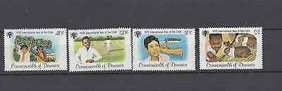 Dominica 1979 Year Of The Child Set Mint Never Hinged