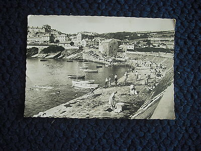 Postcard The Harbour, New Quay, Cardiganshire, Wales