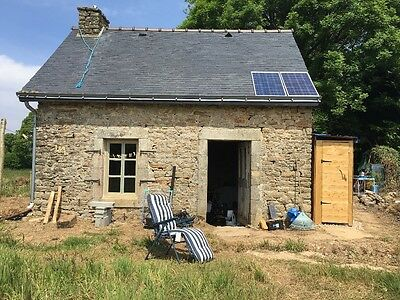 House  property renovation with 4 acres of land in Brittany France