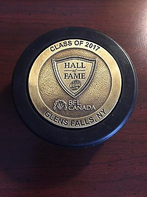 2017 ECHL Commemorative Hall of Fame Puck - Glens Falls, NY - RARE