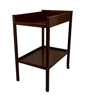 Childcare Universal Change Table Two Tier Walnut - NEW