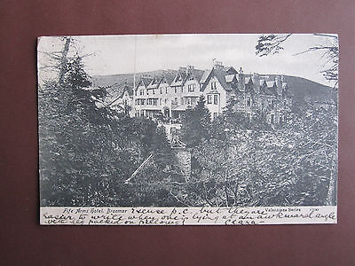 Fife Arms Hotel, Braemar - Valentine Series post card - mailed 1905