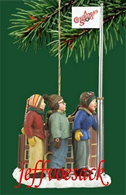 "A Christmas Story ""Triple Dog Dare""  Carlton ornament"