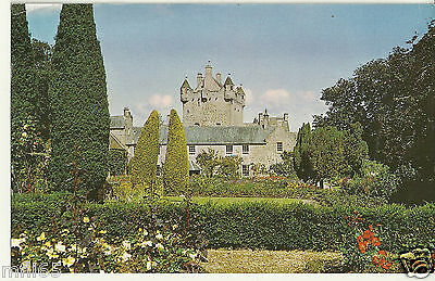 Old Postcard (1971) - Cawdor Castle and Gardens , Nairn - Posted