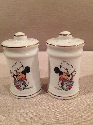 Vintage Mickey Mouse salt and pepper shakers