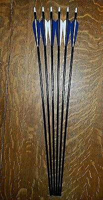 """Carbon Express Game Slayer 2117 30"""" Aluminum Hunting or Target Arrows - 6 Pack"""
