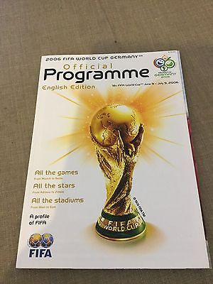 Official World Cup Programme 2006 Germany