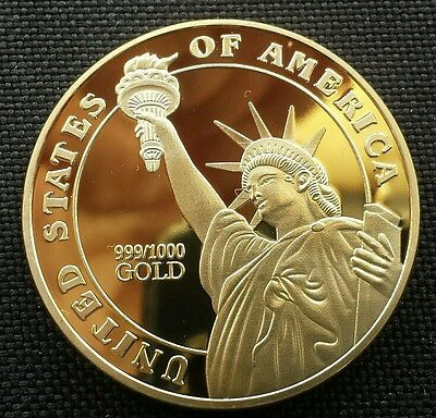 In God We Trust Medal of Honor Liberty Commemorative Coin Collectible NEW