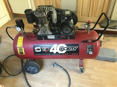 Sip Forty Air Compressor (Anniversary Series) A super bit of kit offering 150psi
