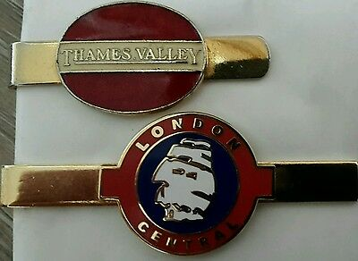 Thames  Valley and London Central Tie Clips