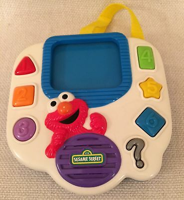 Vintage Sesame Street Interactive Number Shape Colour Toy