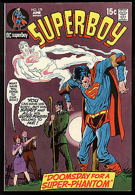 Superboy (1949) #175 First Print Doomsday for a Super-Phantom Faustus Coven VF