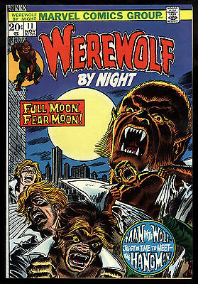 Werewolf By Night (1972) #11 First Print Gil Kane & Tom Sutton Bronze Age VF/NM