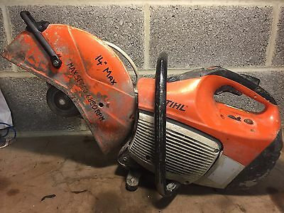 "Stihl Ts420 14"" 350Mm 2 Stroke Petrol Cut Off Saw Ts410"