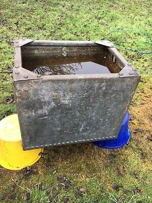 Galvanised Water Tank Suitable For Stationary Engine