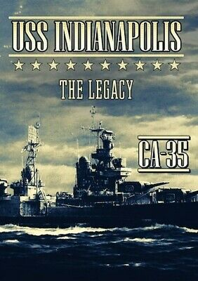Uss Indianapolis: The Legacy (2016, DVD NUEVO) (REGION 1)