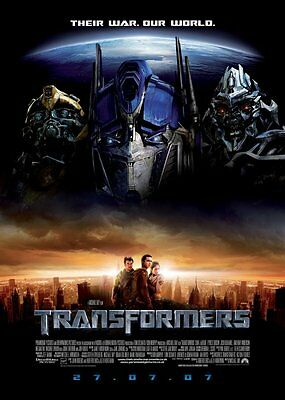 Transformers Collection **New** (4 Films)  MTHC/SD Region 2