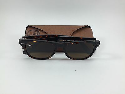 Bin Authentic Ray Ban New Wayfarer Rb2132 710 Brown Sunglasses 55Mm  Italy