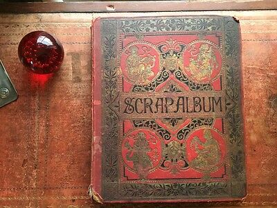 Victorian Scrap Book - full of  Christmas, Birthday & Valentines - Gorgeous