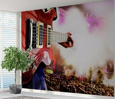 Tennager music graffiti sketch doodle wallpaper photo wall for Audience wall mural