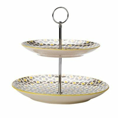 NEW 2-Tier Dharma Cake Stand Partyware Gifts School