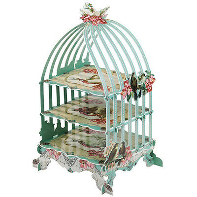 * Talking Tables Pastries & Pearls Birdcage Stand - Vintage Tea Party