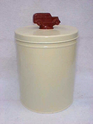Gordon's Potato Chip Tin Can w/ Truck Top, Tom's Peanut Jar Store Lance #2