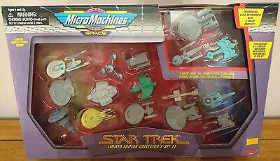 Micro Machines Space Star Trek Limited Edition Collector's Set II (2) Galoob