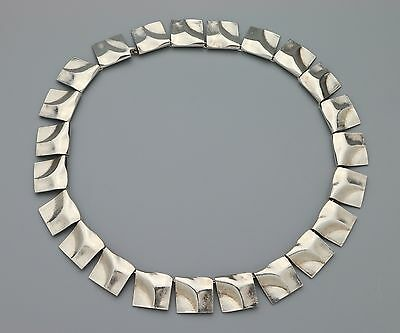 Lapponia Bjorn Weckstrom Sterling Silver Necklace - Galactic Peaks