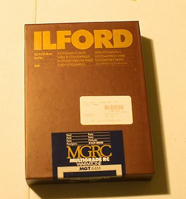 Ilford Photographic Paper 5x7 - MGRC Warmtone Pearl 100 Sheets